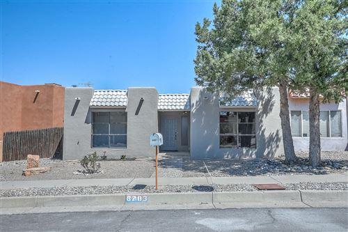 Photo of 8703 CHAMBERS Place NE, Albuquerque, NM 87111 (MLS # 990290)
