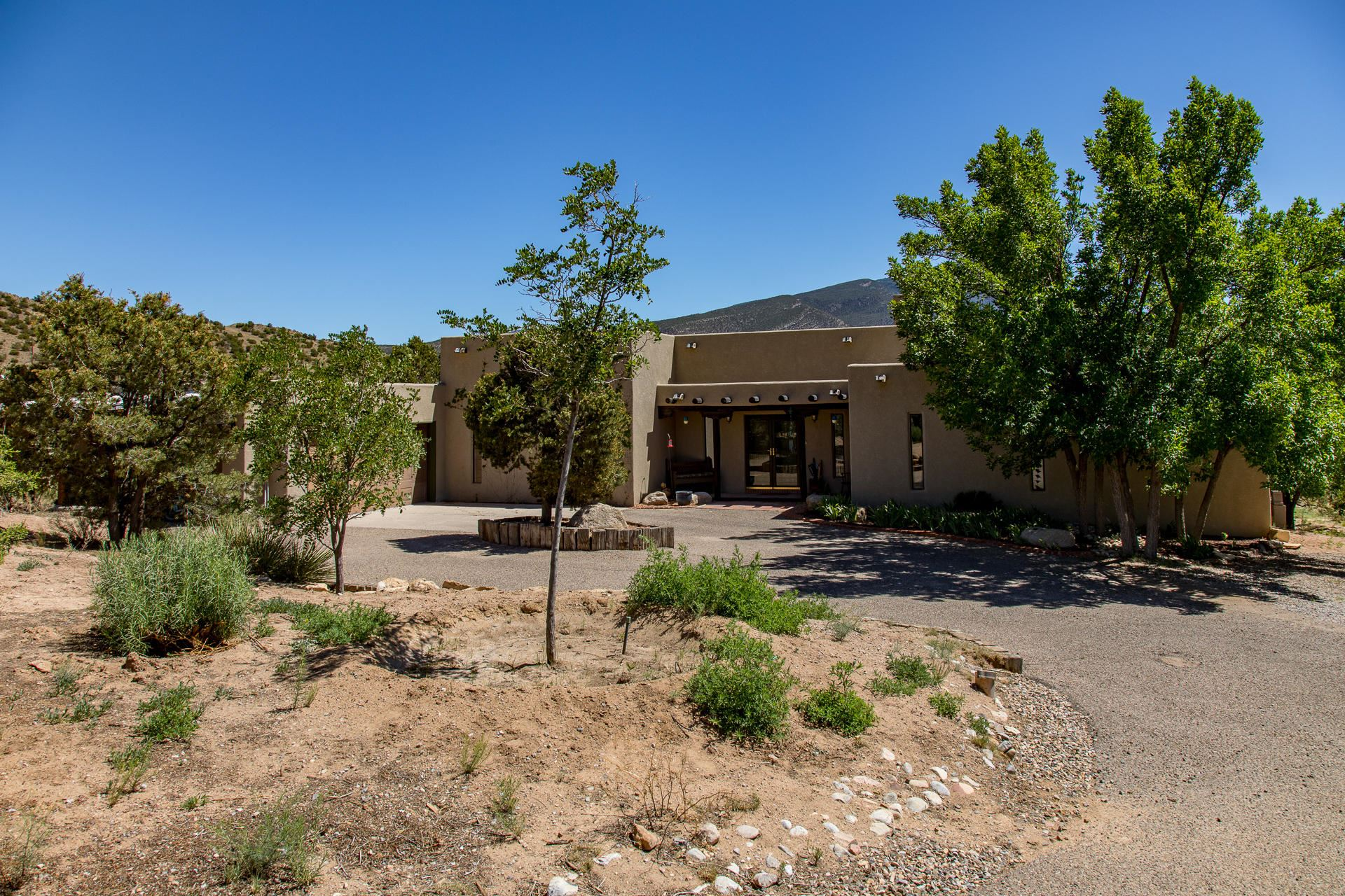 Photo of 153 CAMINO DE LAS HUERTAS, Placitas, NM 87043 (MLS # 970292)