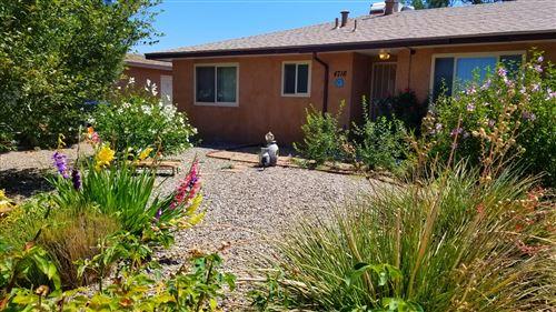 Photo of 4716 OVERLAND Street NE, Albuquerque, NM 87109 (MLS # 974312)