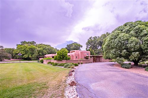 Photo of 5715 TINNIN Road NW, Los Ranchos, NM 87107 (MLS # 971337)