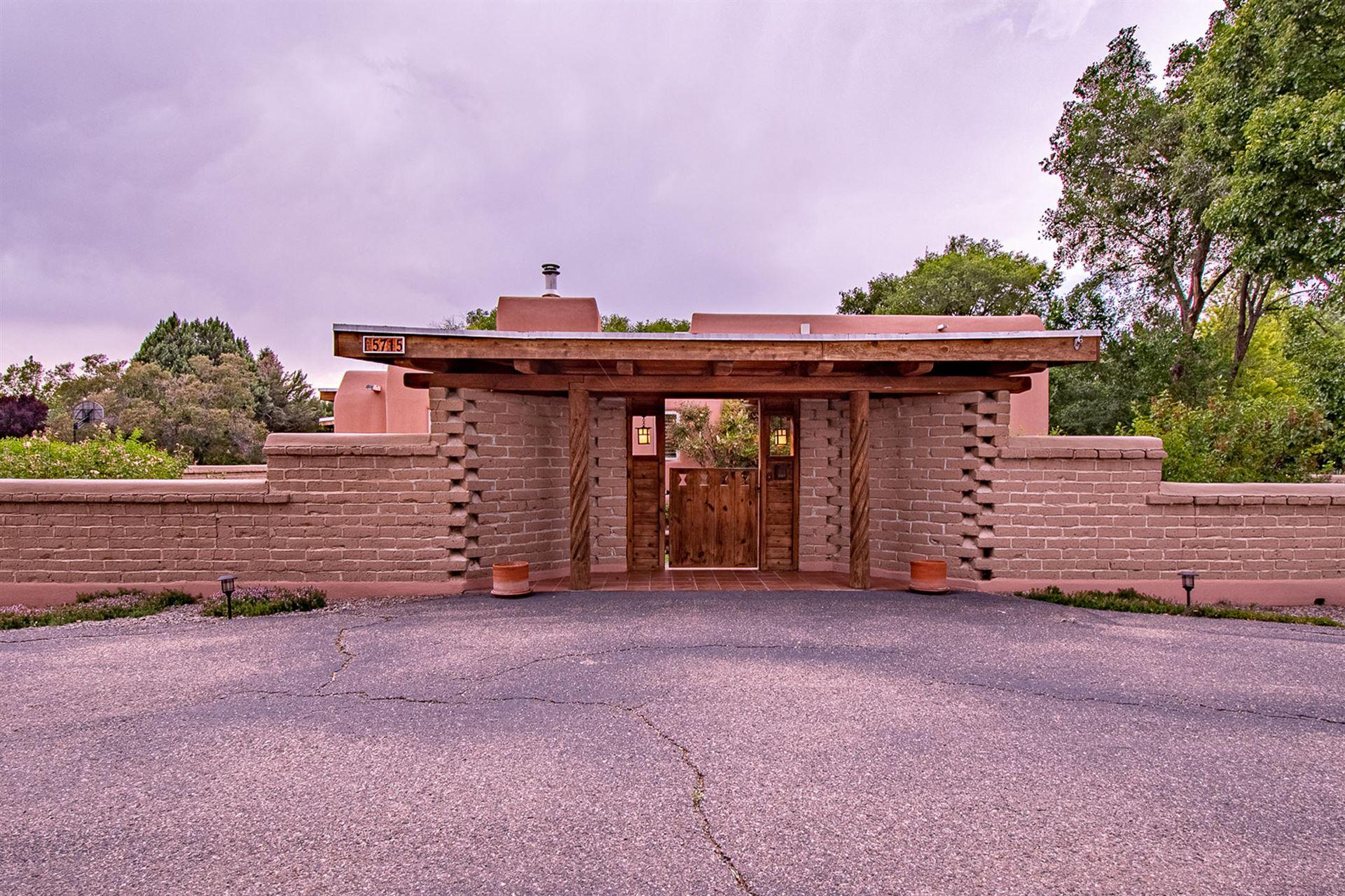 Photo of 5715 TINNIN Road NW, Los Ranchos, NM 87107 (MLS # 971337)