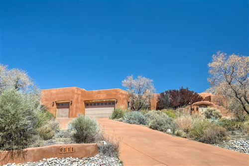 Photo of 9811 DESERT MOUNTAIN Road NE, Albuquerque, NM 87122 (MLS # 989388)