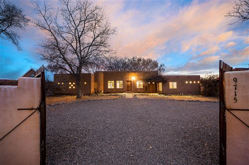 Photo of 9715 GUADALUPE Trail NW, Albuquerque, NM 87114 (MLS # 962401)