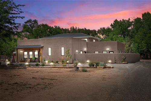Photo of 8527 Rio Grande Boulevard NW, Los Ranchos, NM 87114 (MLS # 997404)