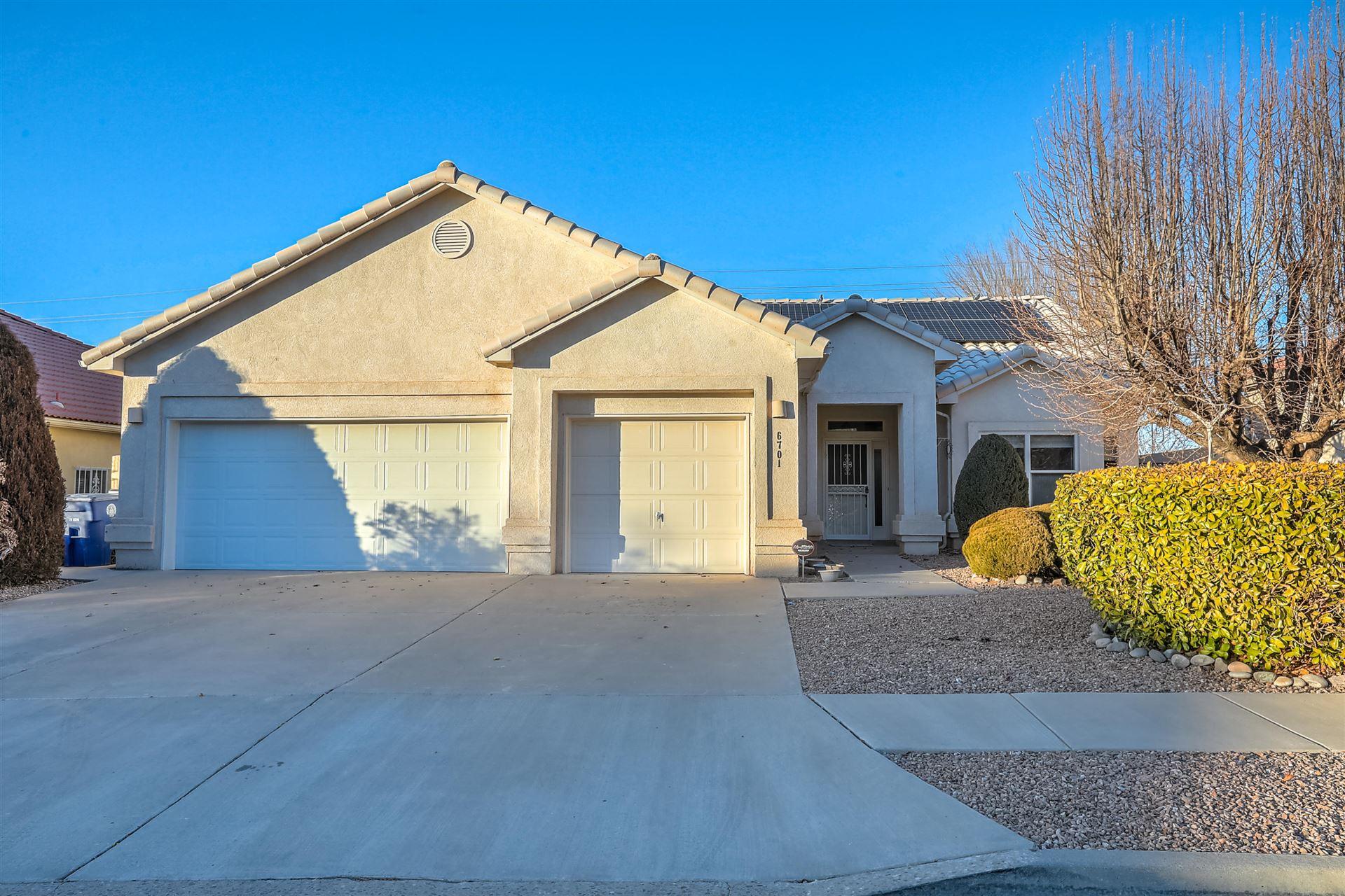 6701 TESORO Place NE, Albuquerque, NM 87113 - MLS#: 983423