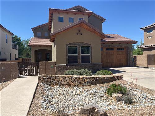 Photo of 220 NICO Trail NW, Los Ranchos, NM 87114 (MLS # 993445)