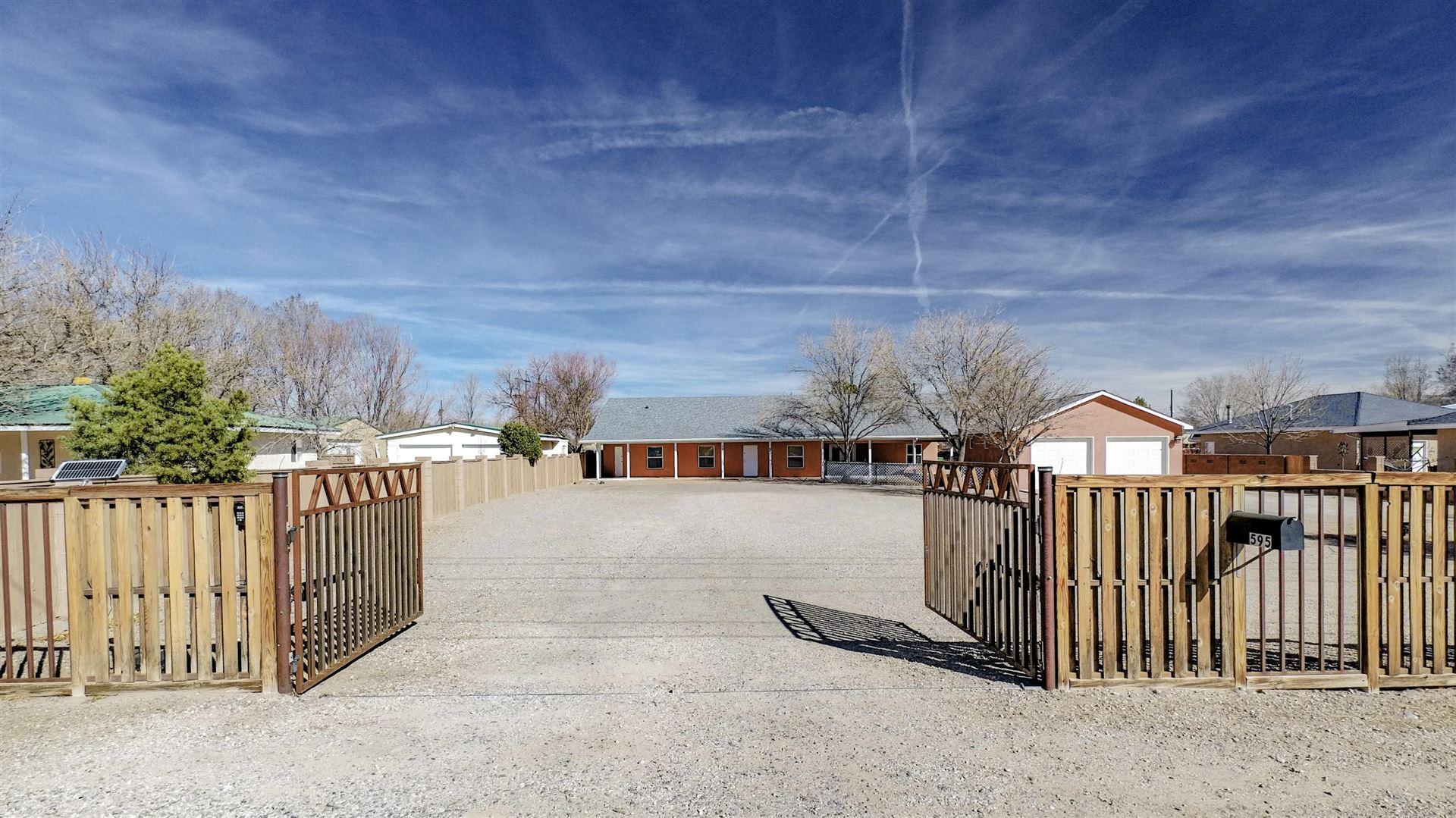 Photo of 595 EL PUEBLO Road NW, Los Ranchos, NM 87114 (MLS # 985446)