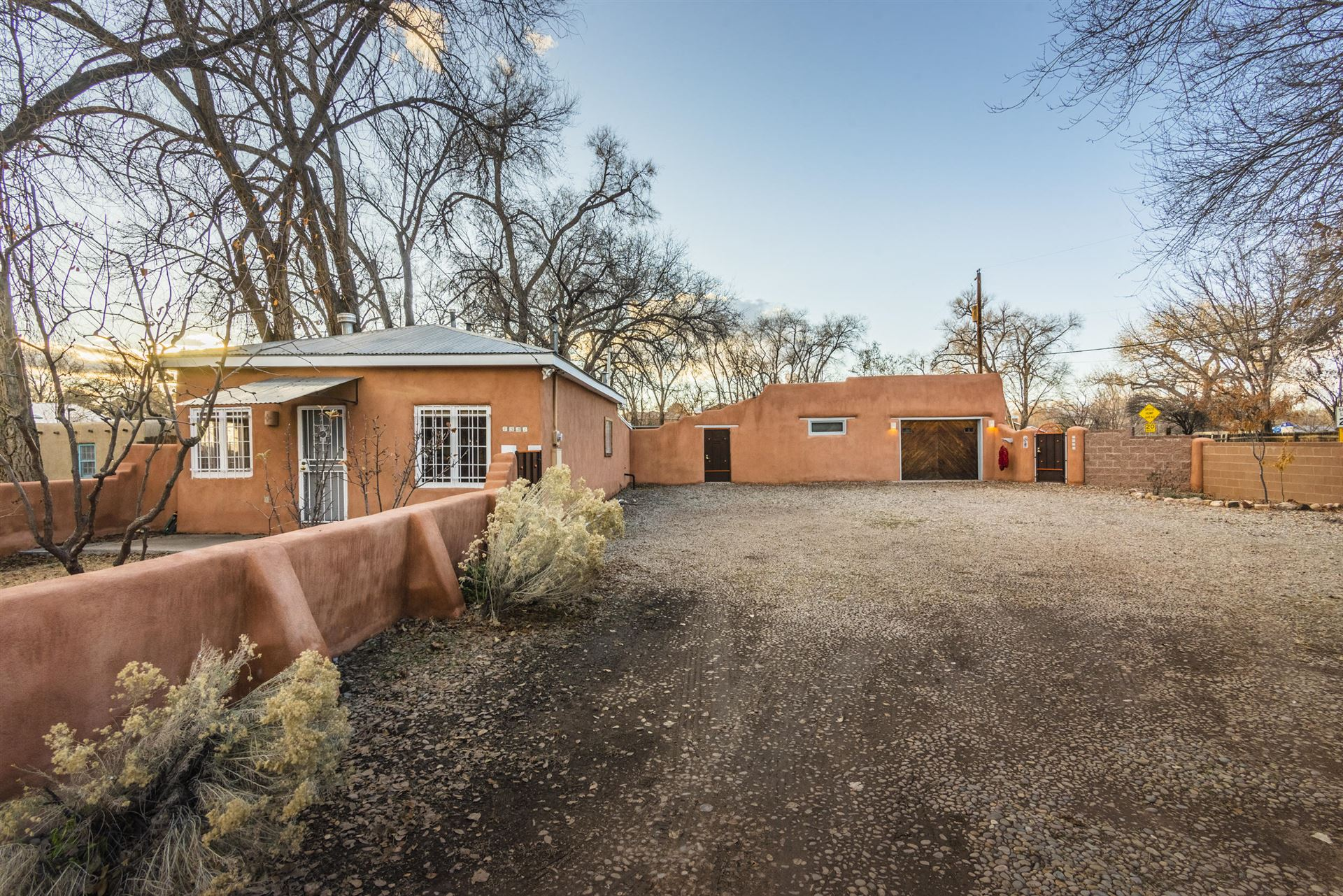 Photo of 7339 Guadalupe Trail NW, Los Ranchos, NM 87107 (MLS # 977484)