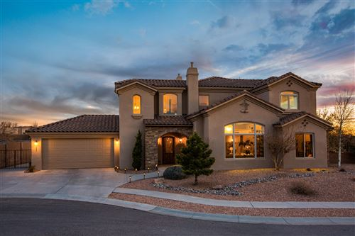 Photo of 9200 LA TIERRA Court NE, Albuquerque, NM 87122 (MLS # 986501)