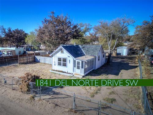 Photo of 1841 Del Norte Drive SW, Albuquerque, NM 87105 (MLS # 980503)