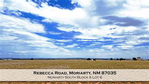 Photo of Rebecca Road, Moriarty, NM 87035 (MLS # 974513)