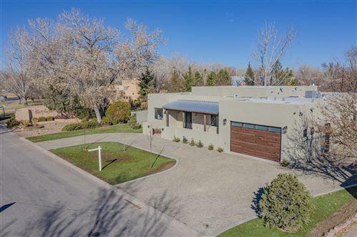 Photo of 1411 EL PORTAL Road NW, Los Ranchos, NM 87107 (MLS # 983551)