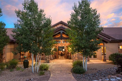 Photo of 49 BROKEN ARROW Place, Sandia Park, NM 87047 (MLS # 969586)