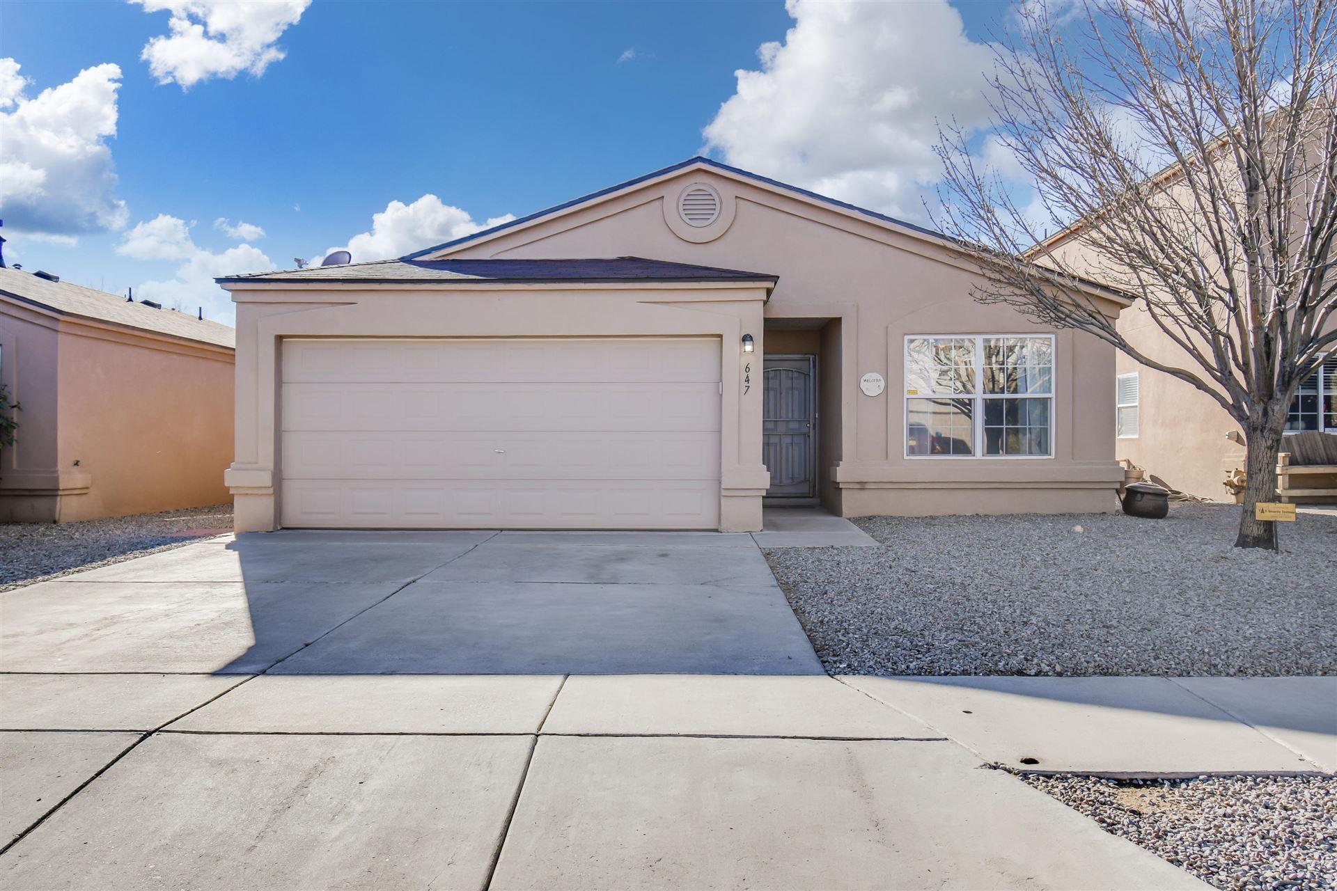 647 REMBERT Trail SW, Albuquerque, NM 87121 - MLS#: 986597