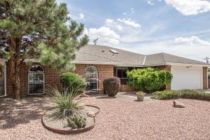 Photo of 9416 NORTHRIDGE Avenue NE, Albuquerque, NM 87111 (MLS # 990668)