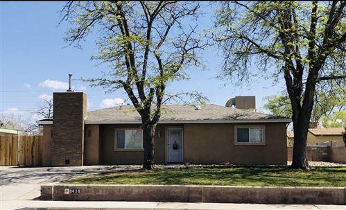 Photo of 3410 MORNINGSIDE Drive NE, Albuquerque, NM 87110 (MLS # 990672)