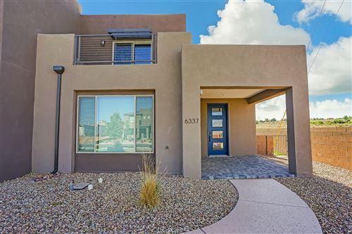 Photo of 6337 Vista Del Bosque Drive, Albuquerque, NM 87120 (MLS # 991698)