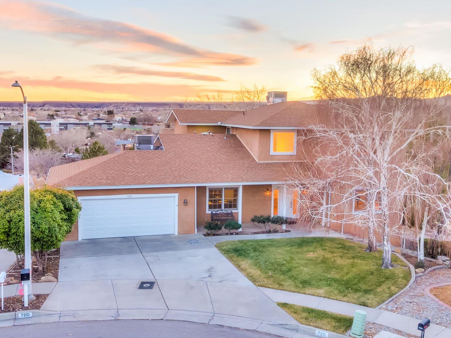 7201 Carson Trail NW, Albuquerque, NM 87120 - #: 986701