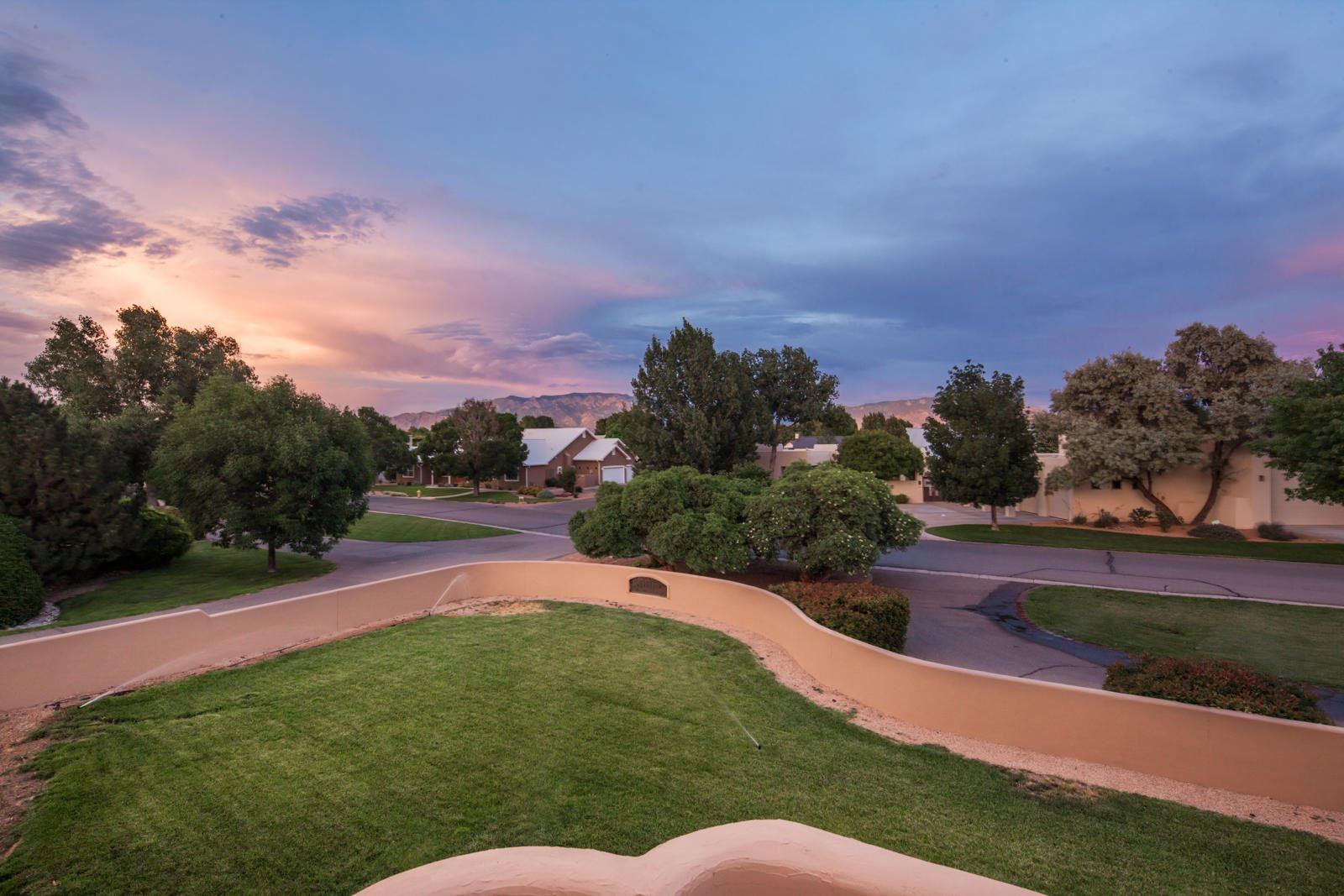 Photo of 4682 LOS POBLANOS Circle NW, Los Ranchos, NM 87107 (MLS # 970721)