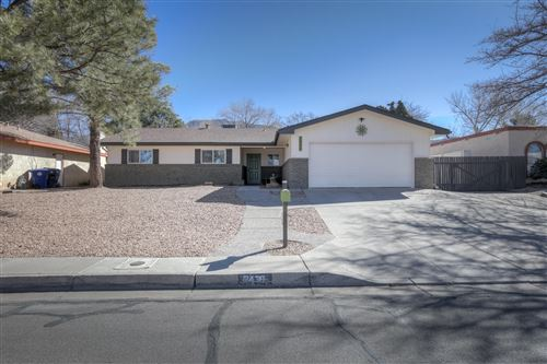 Photo of 2436 ALGODONES Street NE, Albuquerque, NM 87112 (MLS # 986813)