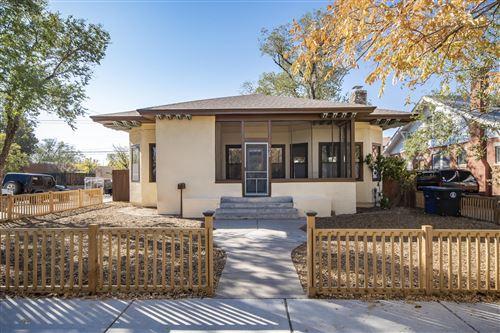 Photo of 1620 SILVER Avenue SE, Albuquerque, NM 87106 (MLS # 979828)