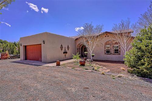 Photo of 14 RED HAWK Road, Tijeras, NM 87059 (MLS # 989832)