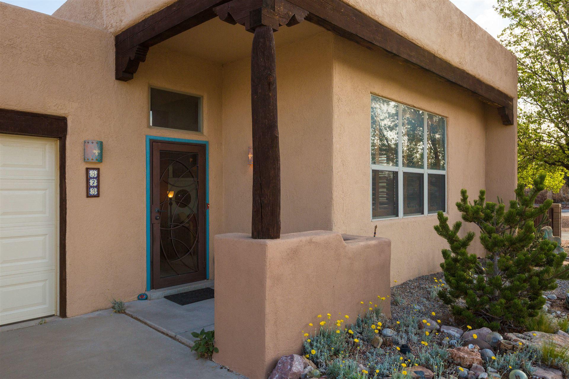 Photo of 373 LA CHAMISAL Lane NW, Los Ranchos, NM 87107 (MLS # 989834)