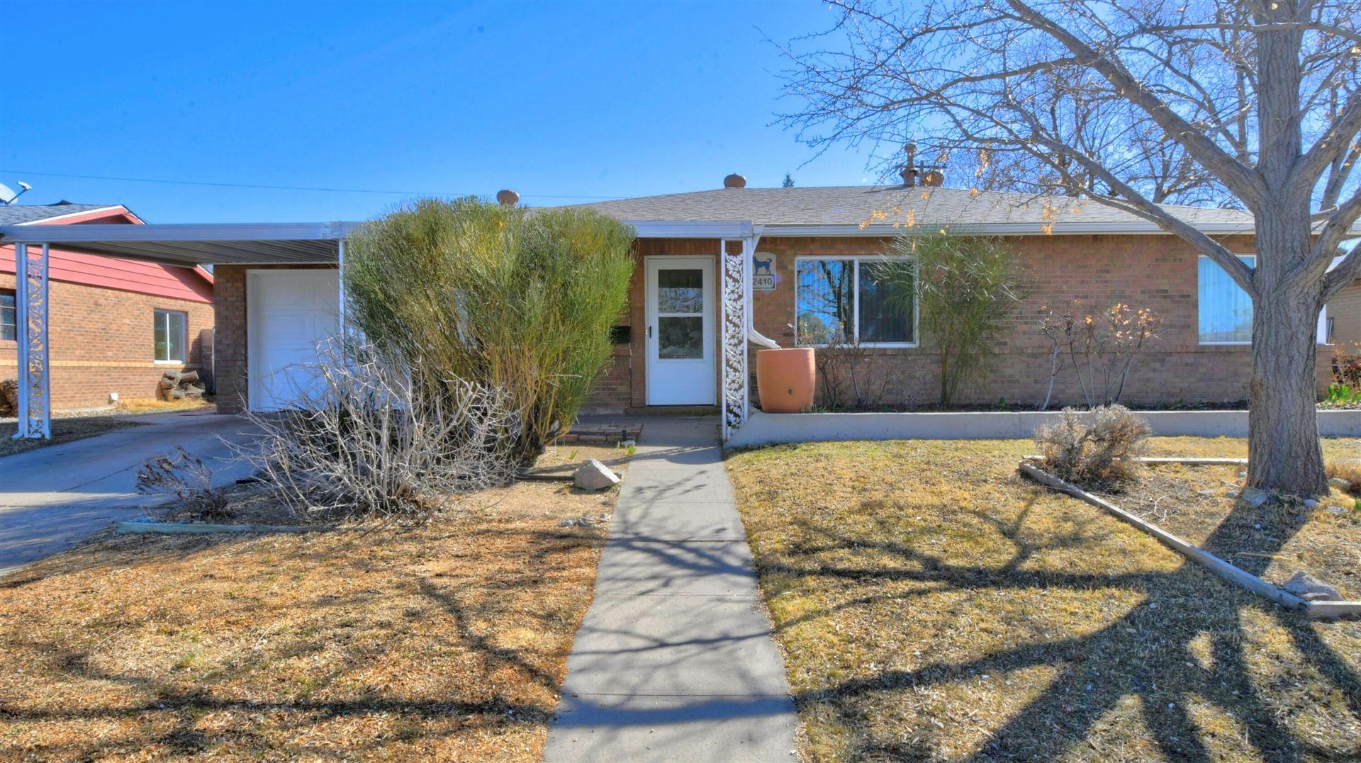 2410 GENERAL MARSHALL Street NE, Albuquerque, NM 87112 - MLS#: 986842