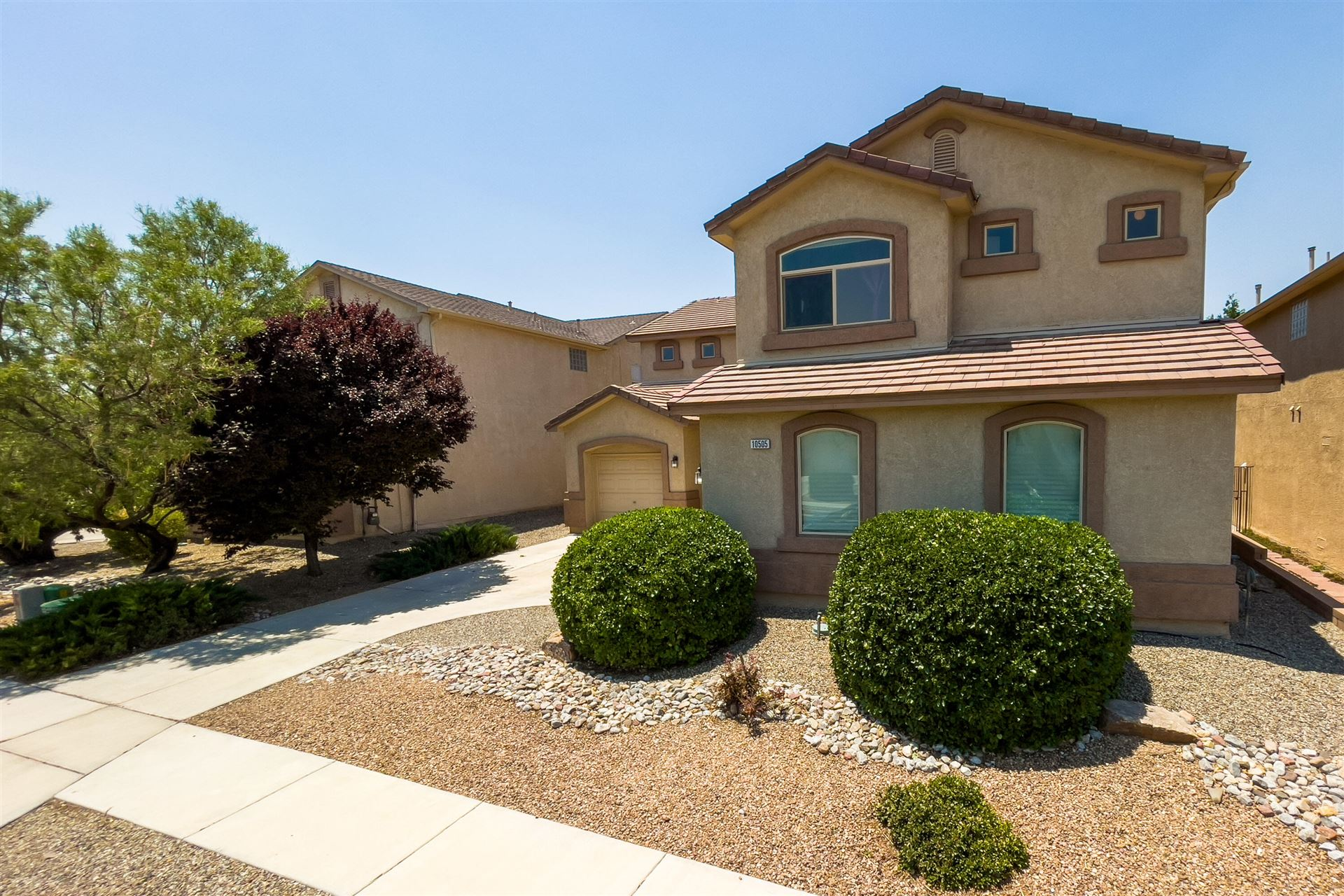 Photo of 10505 Bitter Creek Drive NW, Albuquerque, NM 87114 (MLS # 993884)