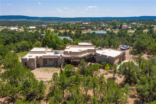 Photo of 47 Sandia Mountain Ranch Drive, Tijeras, NM 87059 (MLS # 975960)