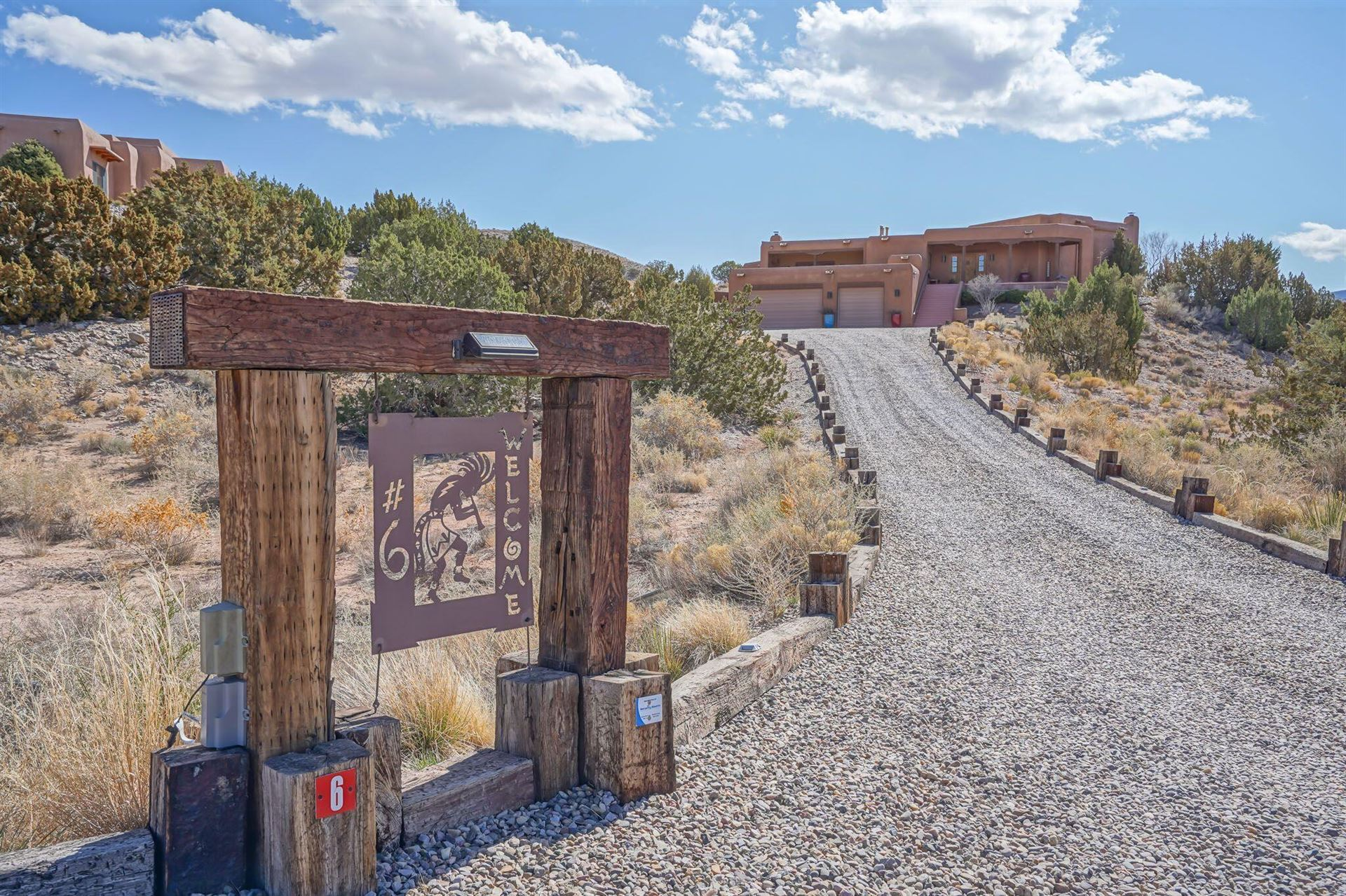 6 CALLE CHOLLA, Placitas, NM 87043 - MLS#: 987974