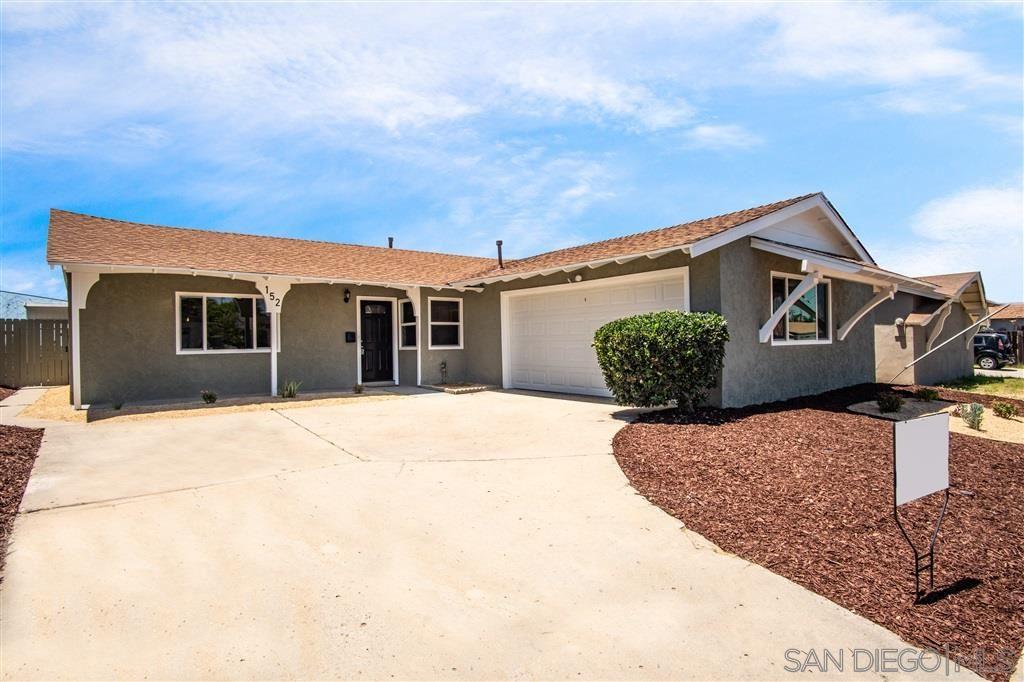 152 Buccaneer Dr, San Diego, CA 92114 - MLS#: 200031009
