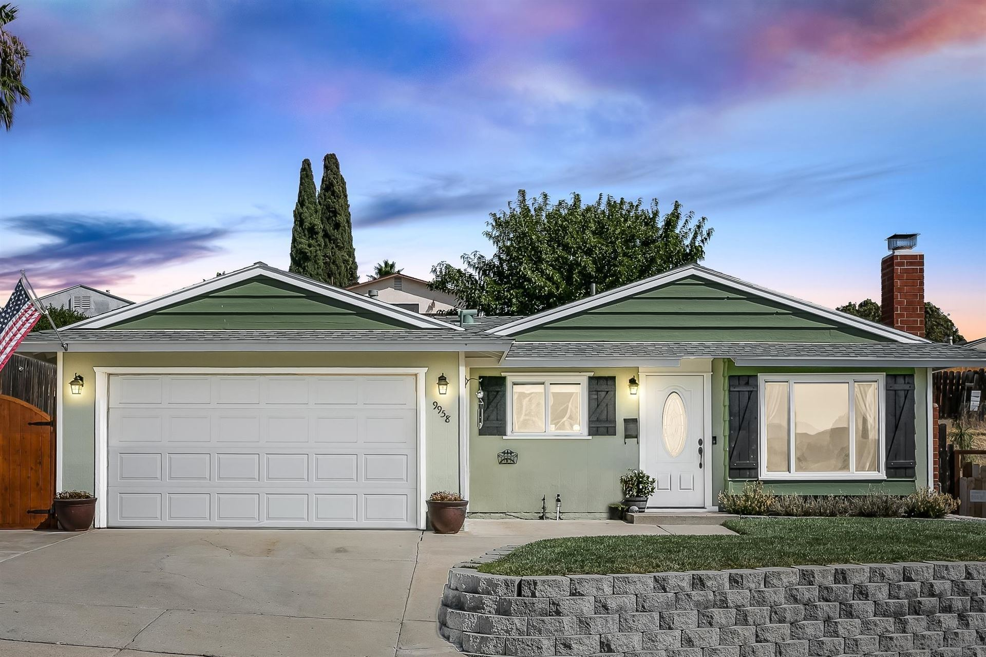 9958 Golden West Ln, Santee, CA 92071 - MLS#: 210026327