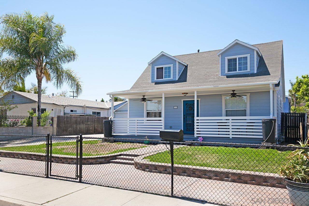 316 Richardson Ave, El Cajon, CA 92020 - #: 210010362