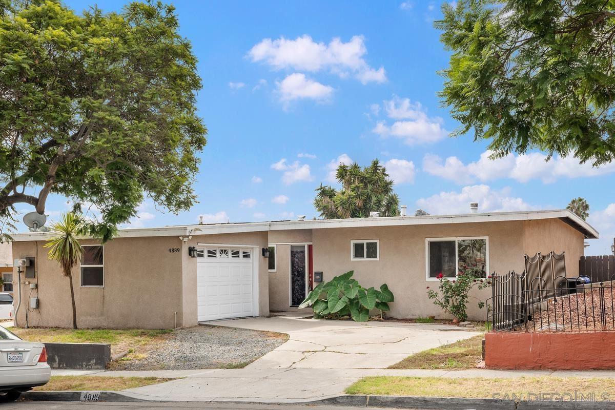 4889 Ocean View Blvd, San Diego, CA 92113 - MLS#: 210026600