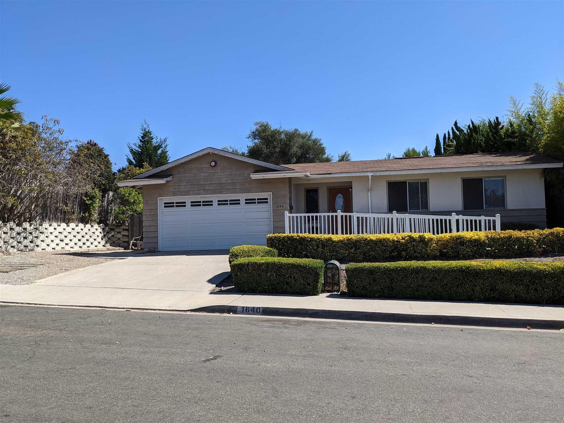 1640 Dartmouth St, Chula Vista, CA 91913 - MLS#: 210026654