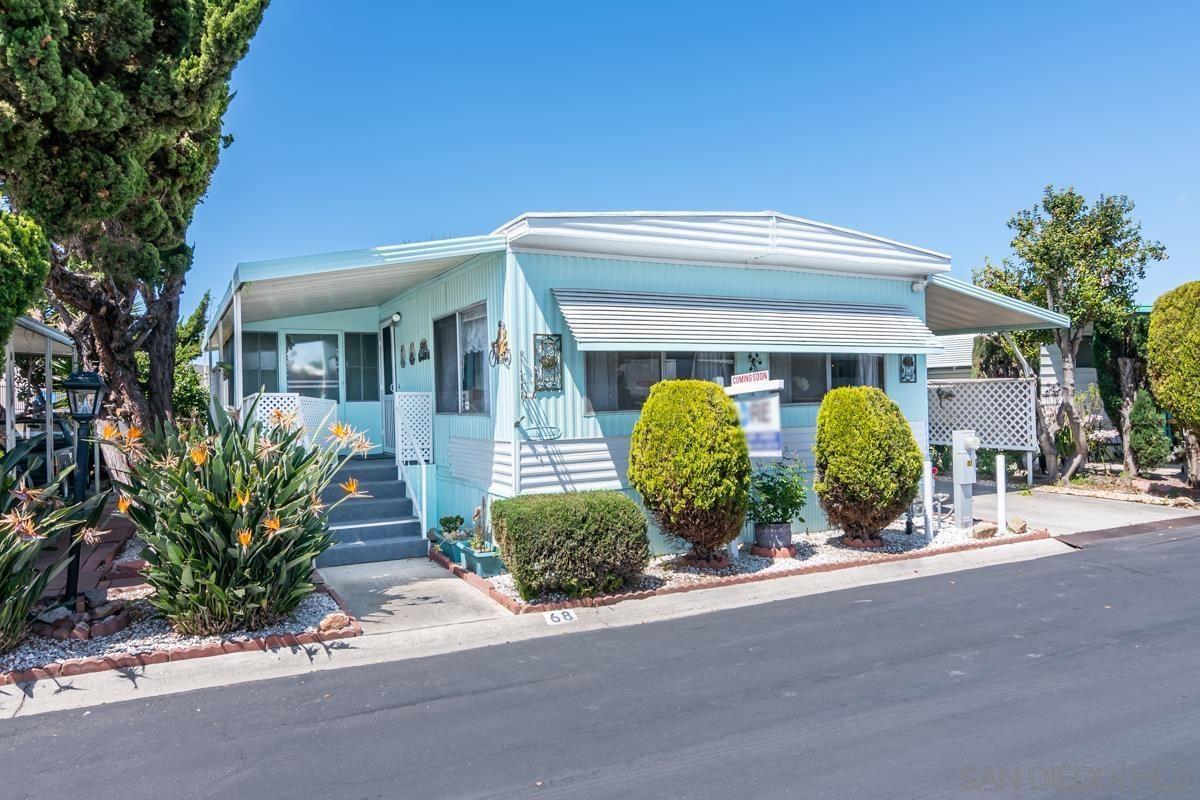 221 N El Camino Real #68, Oceanside, CA 92058 - #: 210009664