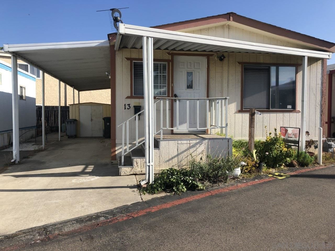 9459 Mission Gorge Road #13, Santee, CA 92071 - MLS#: 210000672