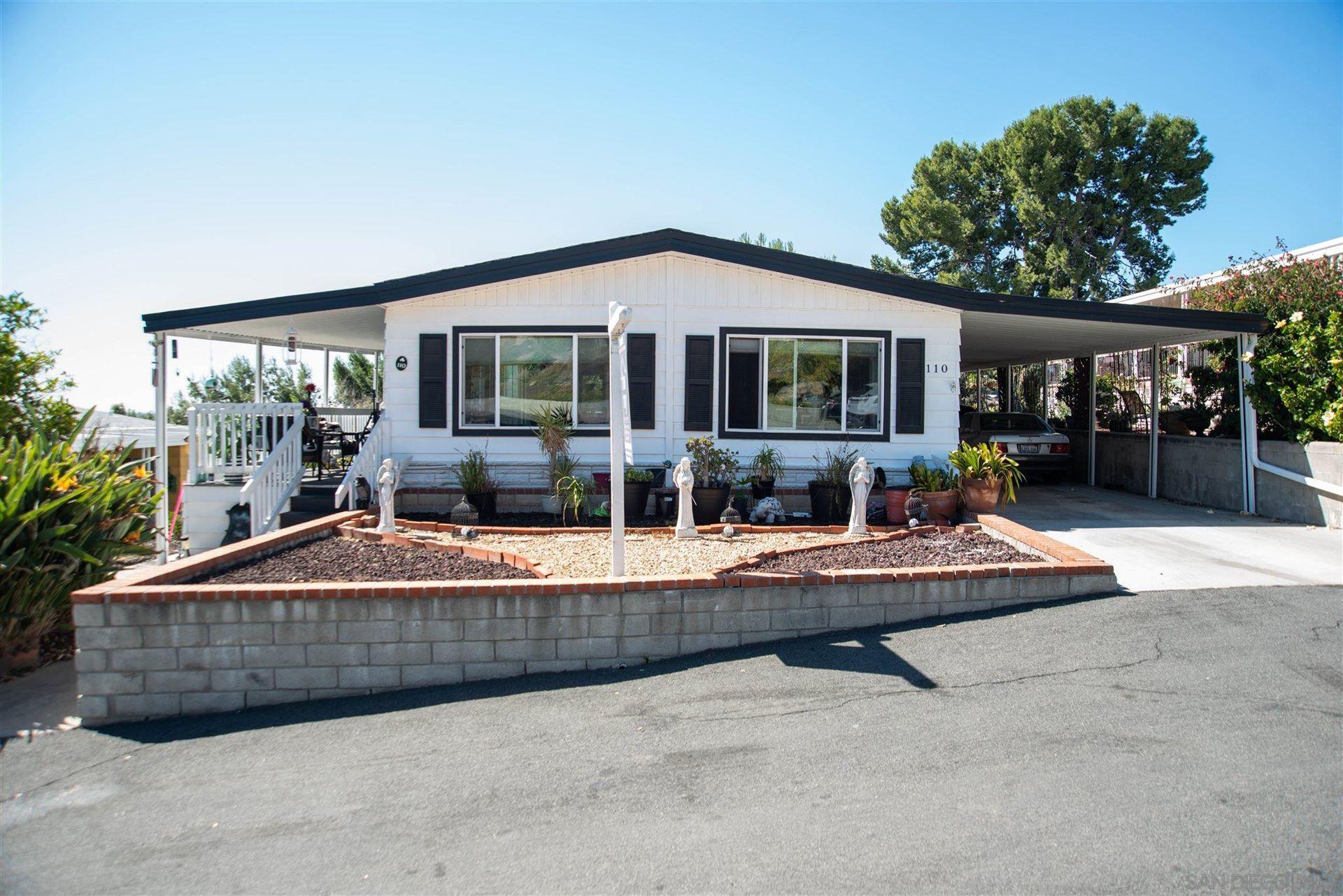 275 S Worthington Ave. SPC #110, Spring Valley, CA 91977 - #: 210002717