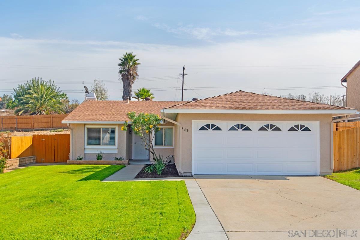 343 Vecino Ct, Spring Valley, CA 91977 - MLS#: 200050795