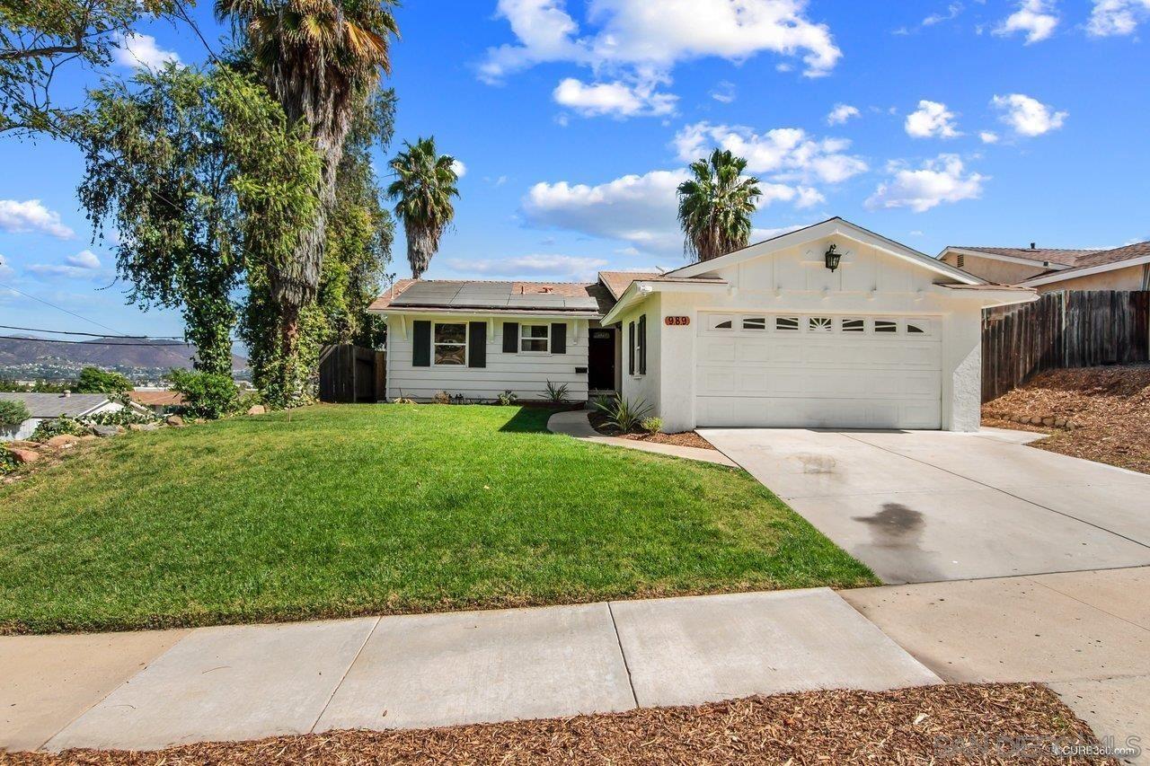 989 Finch St., El Cajon, CA 92020 - MLS#: 210028993