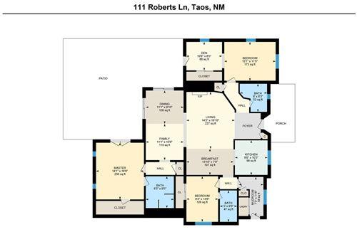Tiny photo for 111 Roberts Lane, Taos, NM 87571 (MLS # 105291)