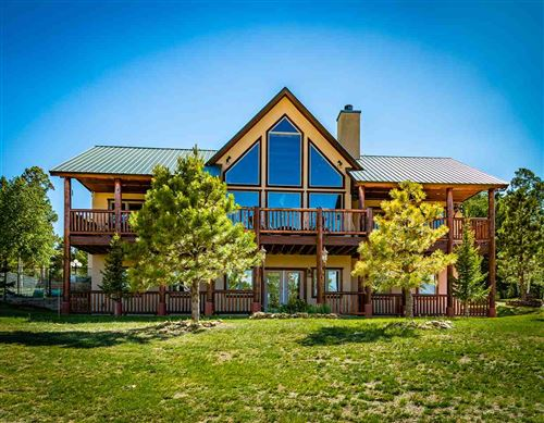 Photo of 259 Palo Flechado Ridge Road, Angel Fire, NM 87710 (MLS # 105377)