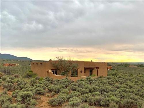 Photo of 18 Calle del Sol, Ranchos de Taos, NM 87557 (MLS # 107496)