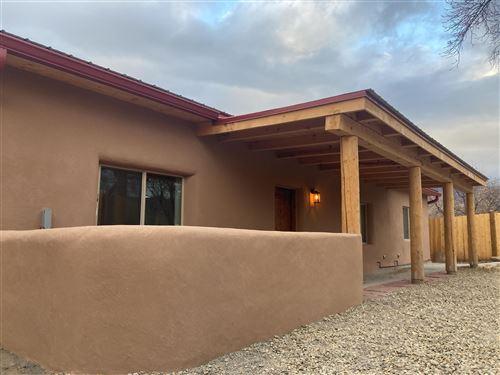 Photo of 502 Camino de la Placitas, Taos, NM 87571 (MLS # 107523)