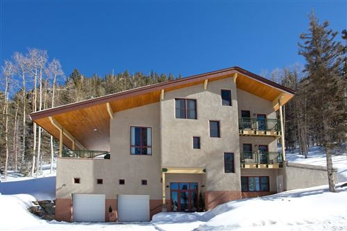 Photo of 34 Snowshoe Road, Taos Ski Valley, NM 87525 (MLS # 101589)