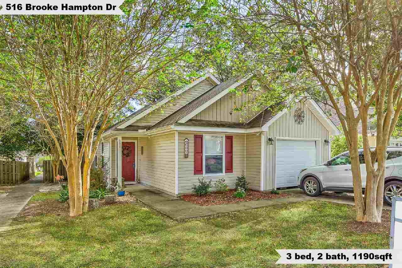 516 Brooke Hampton Drive, Tallahassee, FL 32311 - MLS#: 324063