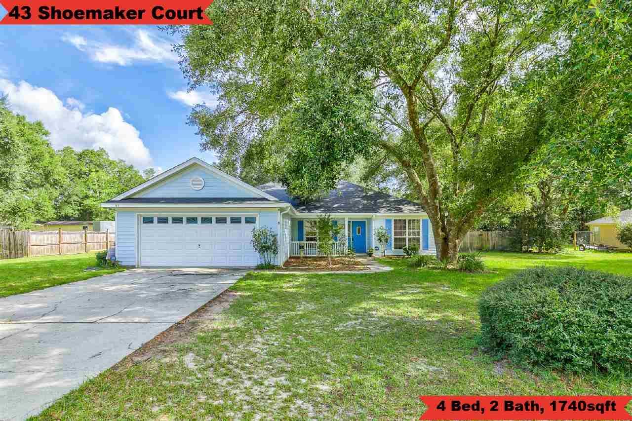 43 Shoemaker Court, Crawfordville, FL 32327 - MLS#: 323068