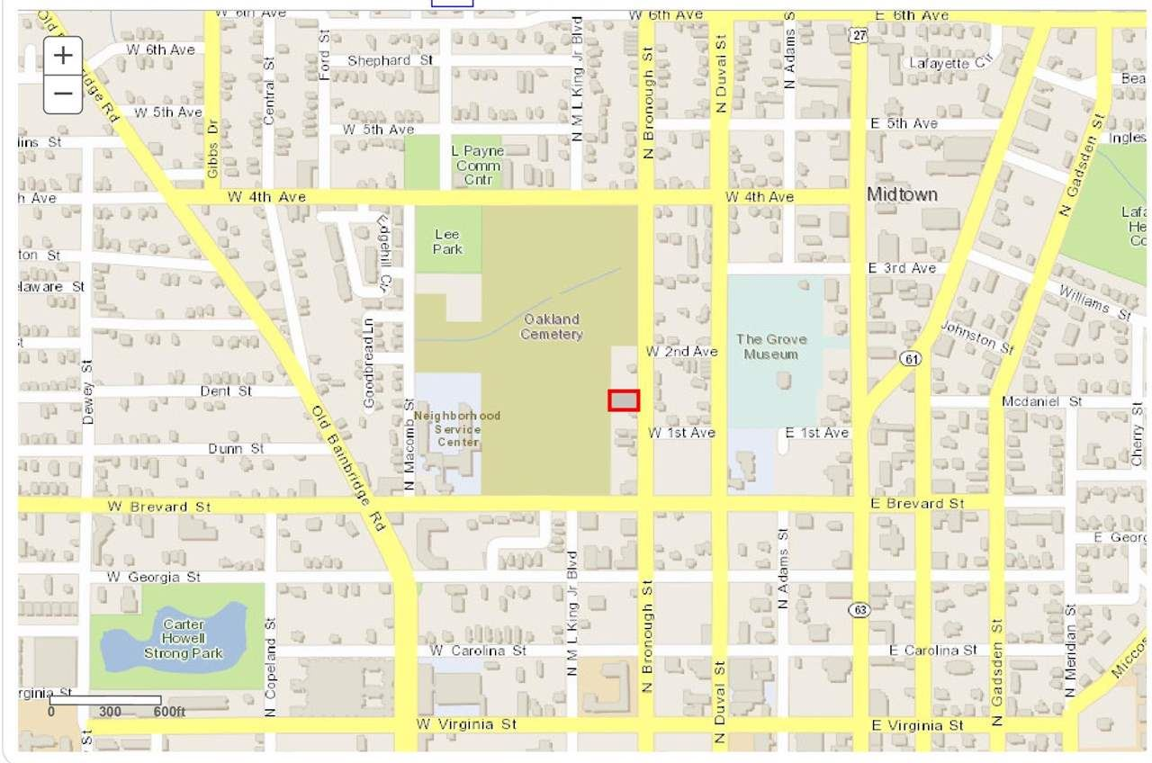 836 N BRONOUGH Street, Tallahassee, FL 32303 - MLS#: 331090