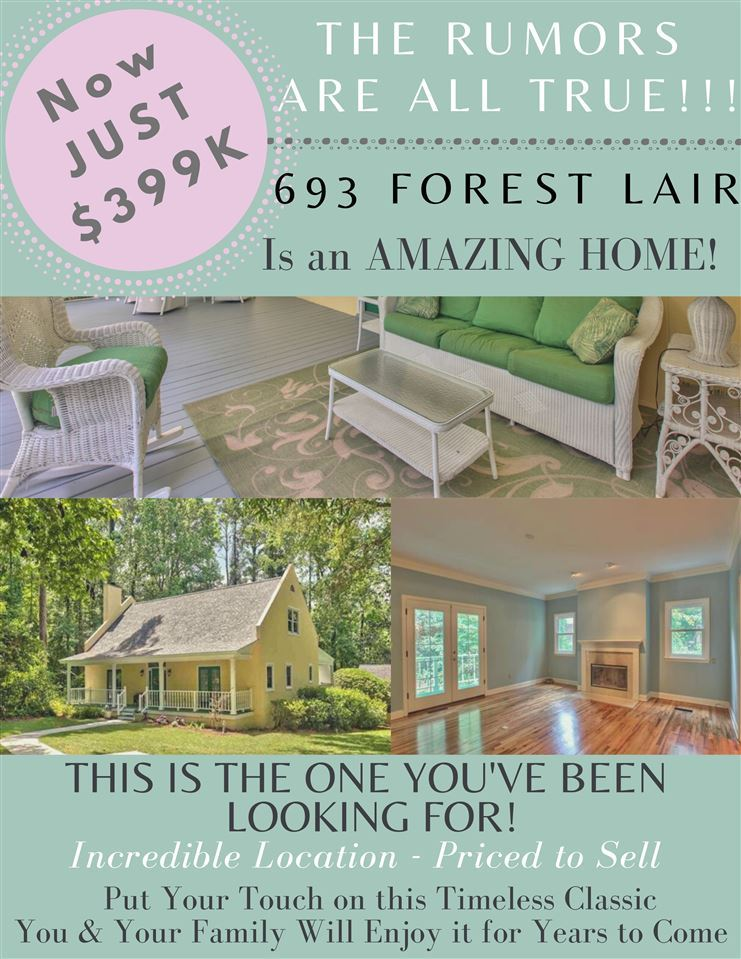 693 Forest Lair, Tallahassee, FL 32312 - #: 319107